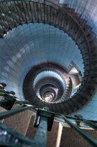Treppenhaus des Phare Ile de Vierge / Bretagne