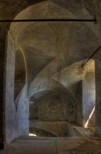 Treppenhaus im alten Gutshof