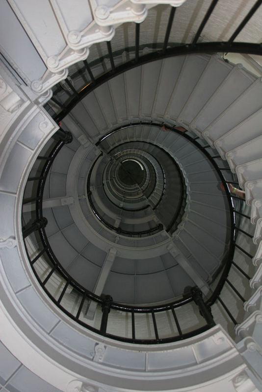 Treppenhaus im Leuchtturm