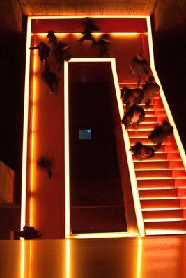 Treppenhaus im Ruhrmuseum Essen