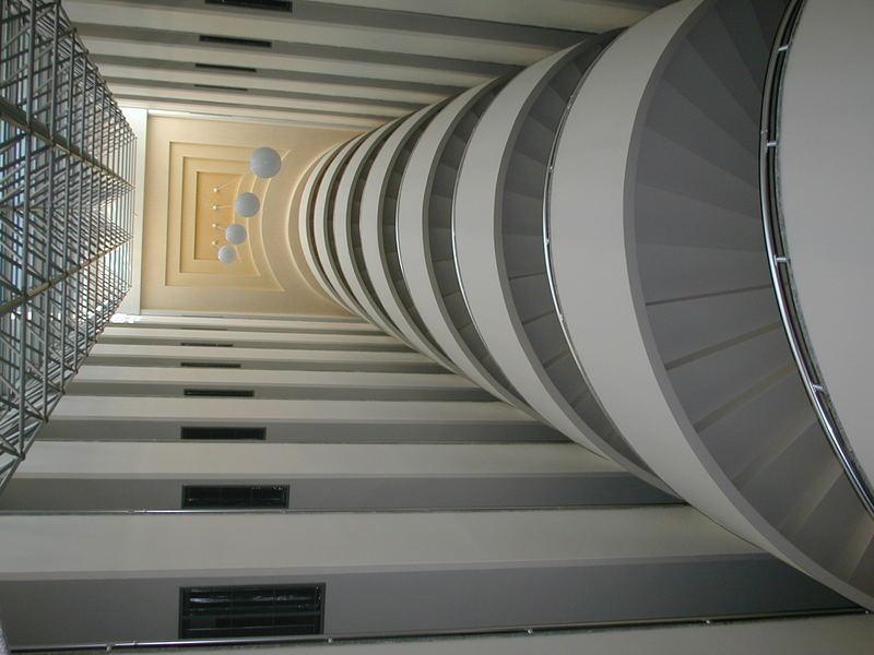 Treppenhausinnenansicht....