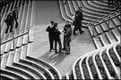 Treppenlandschaft mit Menschen von Ulrich Hollwitz