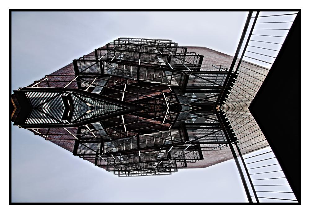 Treppenspiegelung