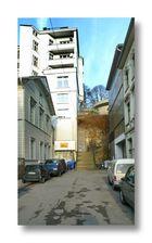 Treppenstraße, 83 Stufen, um 1871