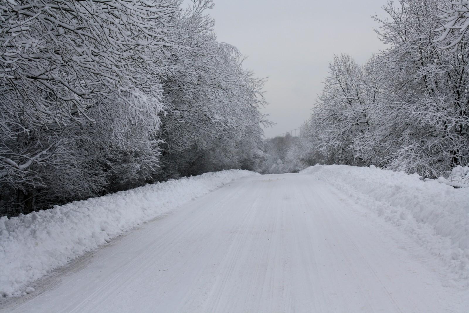 tres bel endroit sous la neige