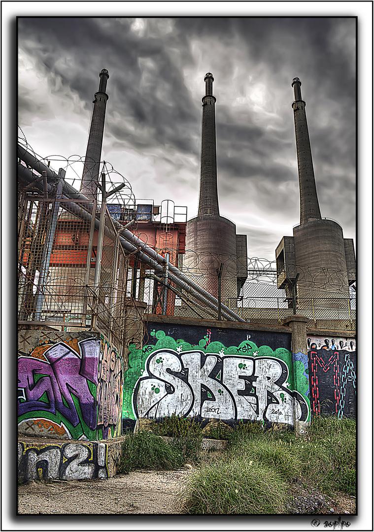 Tres chimeneas 1