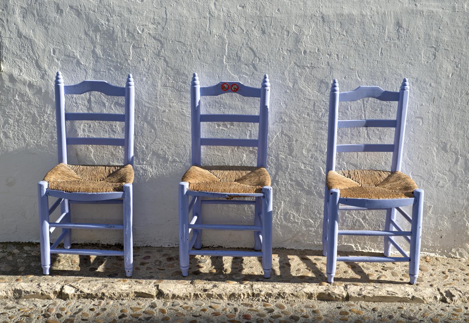 Tres sillas tres