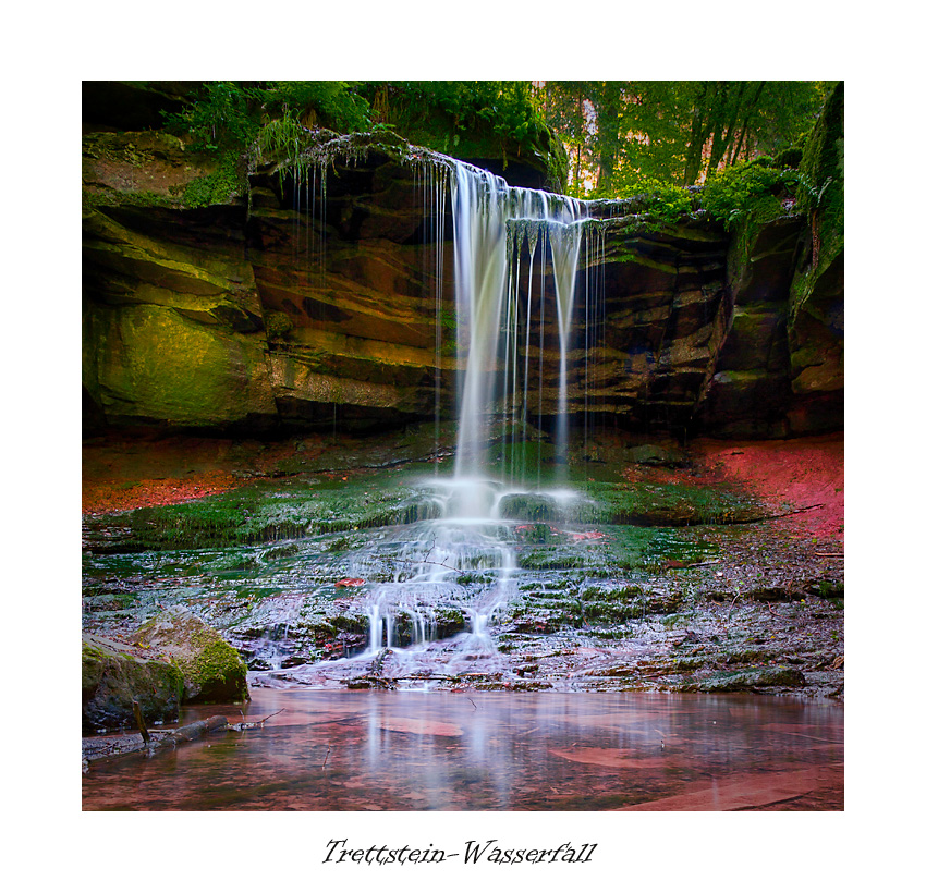 Trettstein-Wasserfall