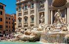 Trevi - Brunnen in Rom (Ausschnitt)