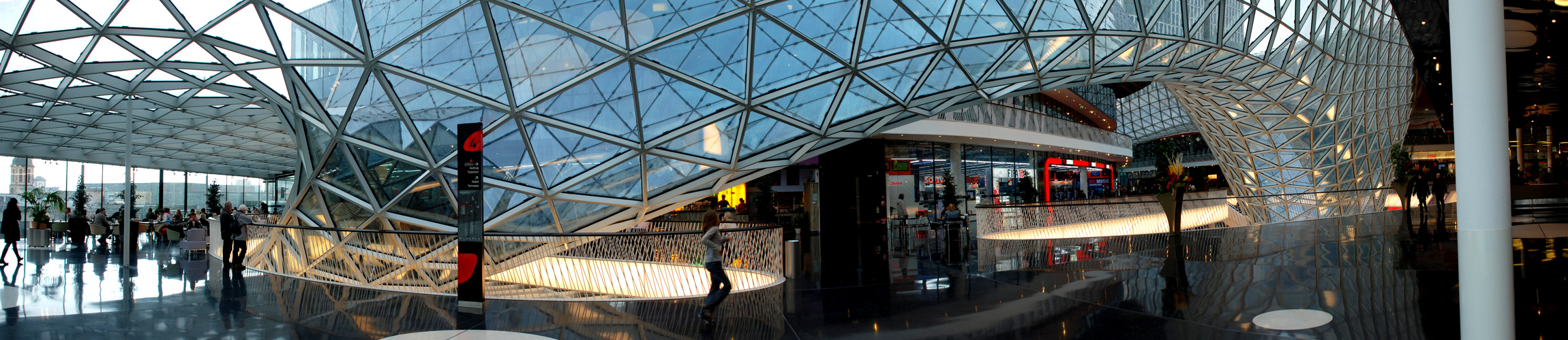 Triangle Glass Roof