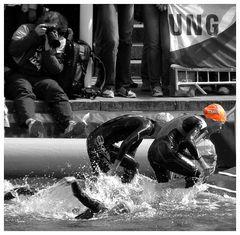 Triathlon in Hamburg