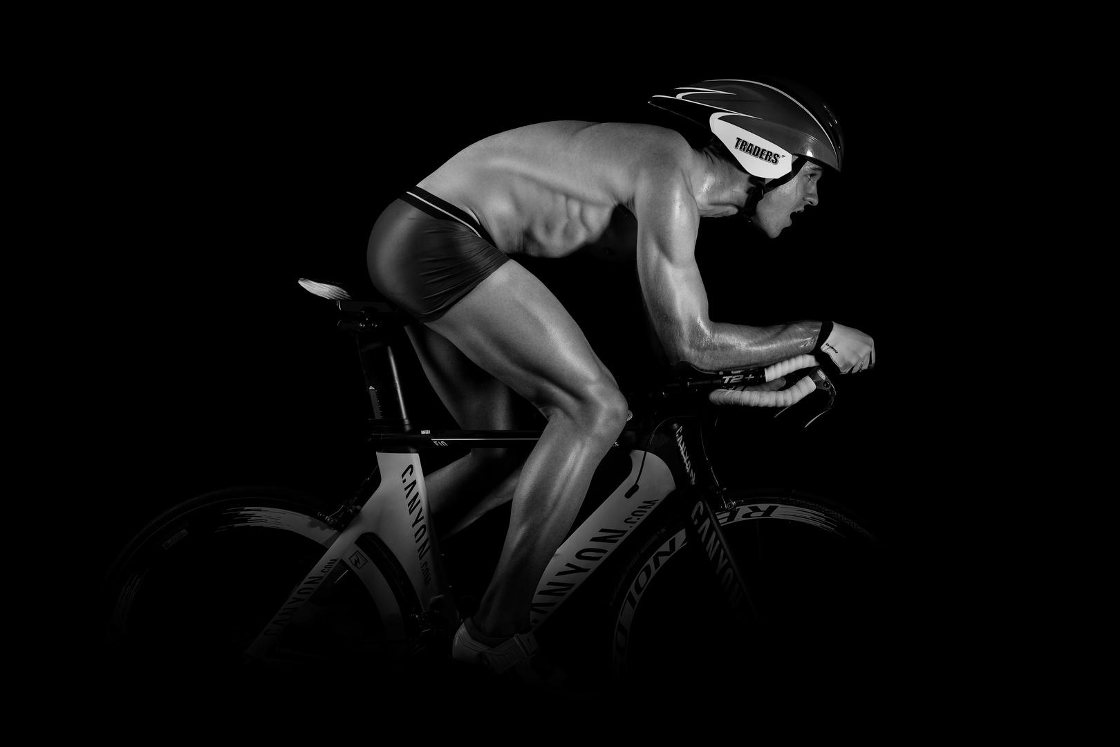 Triathlonrad: Aero-Position