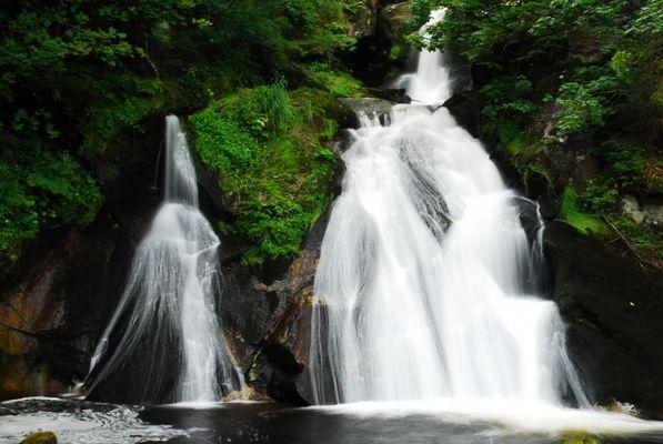 Triberger Wasserfälle im Schwarzwald (2)