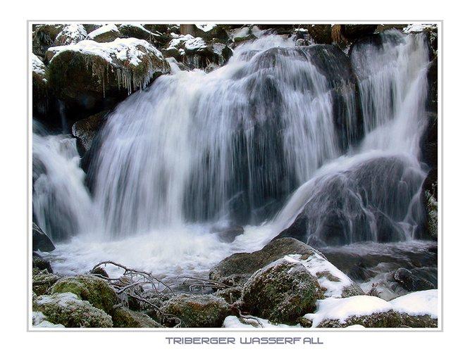 >> Triberger Wasserfall ( Detail )