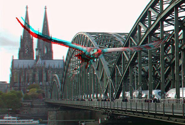 Tribut an Köln und die Photokina in 3D