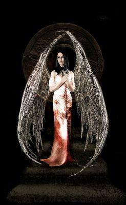 tribute to luis royo- black angel