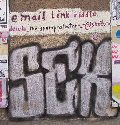 Trick zum Veröffentlichen von e-_-mailadressen