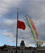 Tricolore al vento