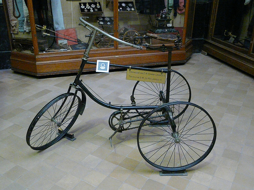 Tricycle de sa majesté Leopold 2