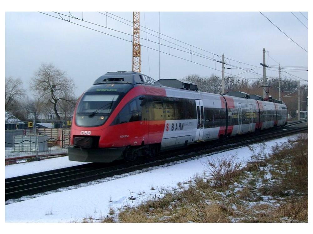 Triebwagen der Baureihe 4024 der ÖBB