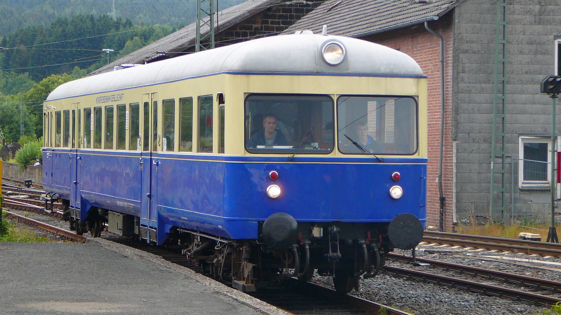 Triebwagen der Hoyaer Eisenbahngesellschaft