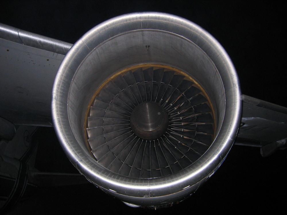 Triebwerk der Antonov 124