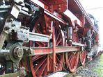 Triebwerk von der Dreizylinderlok der Baureihe 03 1010-2