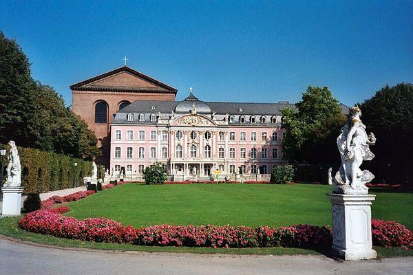 Trier - Palastgarten