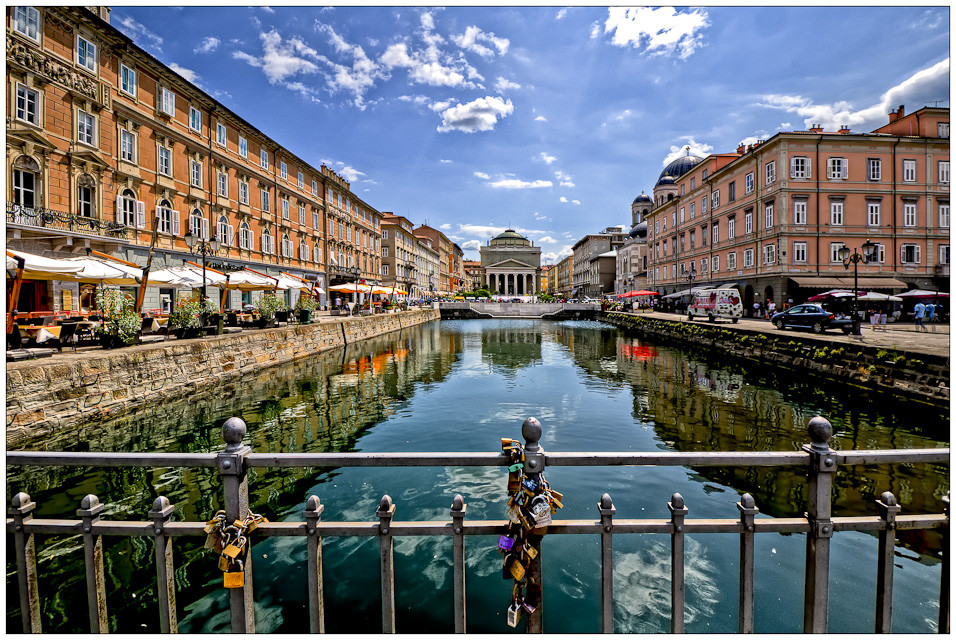 Trieste- canale grande