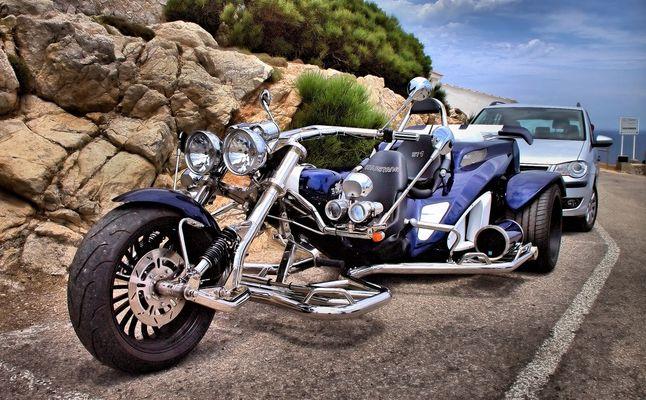 Trike auf Mallorca 2