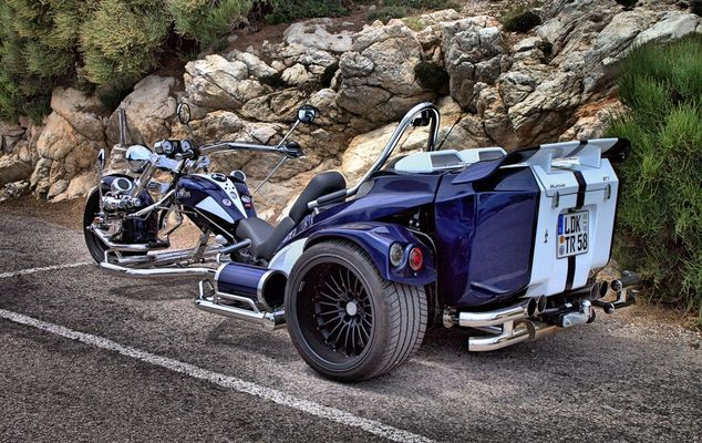Trike auf Mallorca