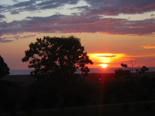 Trinidad - Sonnenuntergang