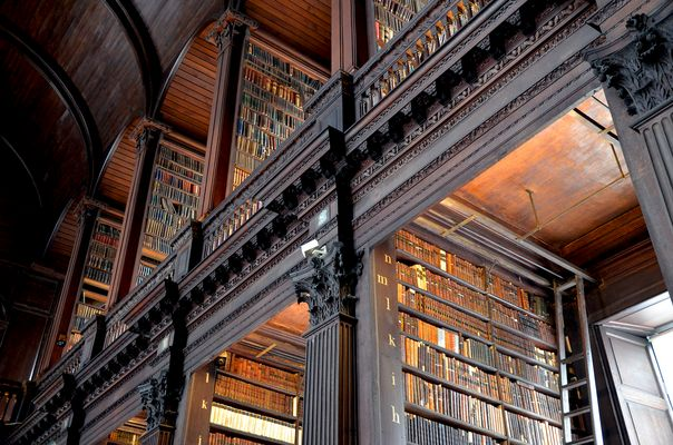 Trinity College Library Dublin - The Book of Kells - Ireland