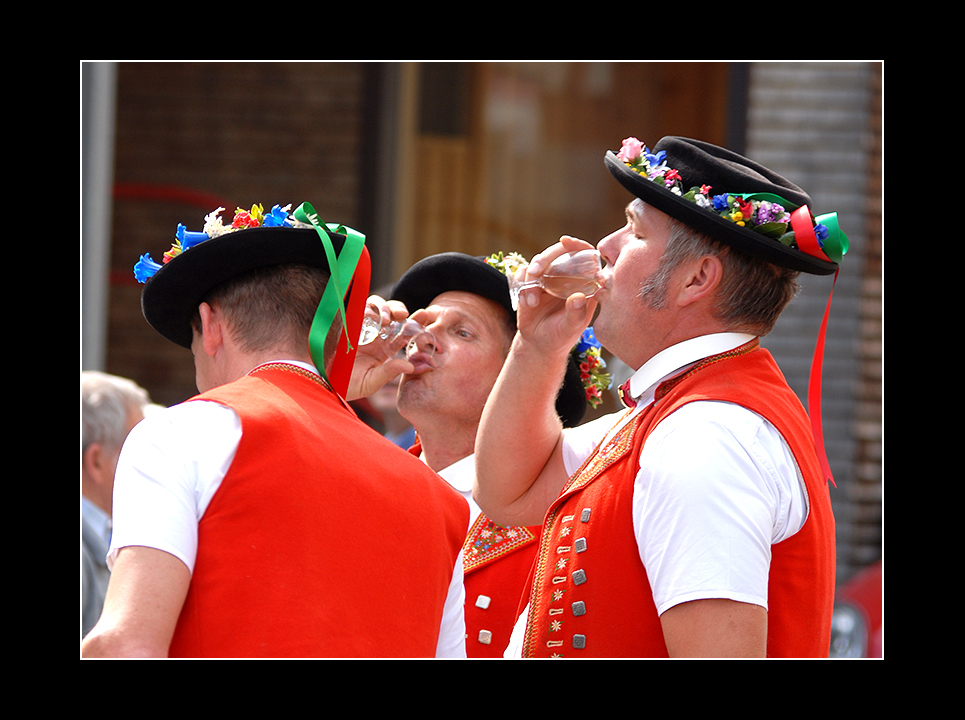 (Trink)-Traditionen