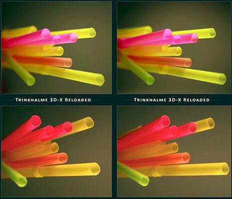 Trinkhalme 3D-X Reloaded