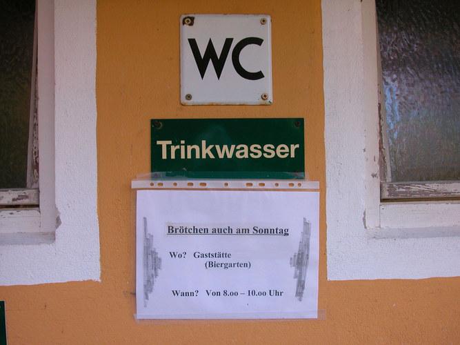 Trinkwasser und Humor...