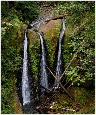 Triple Falls - Columbia River Gorge N.S.A. - Oregon - USA
