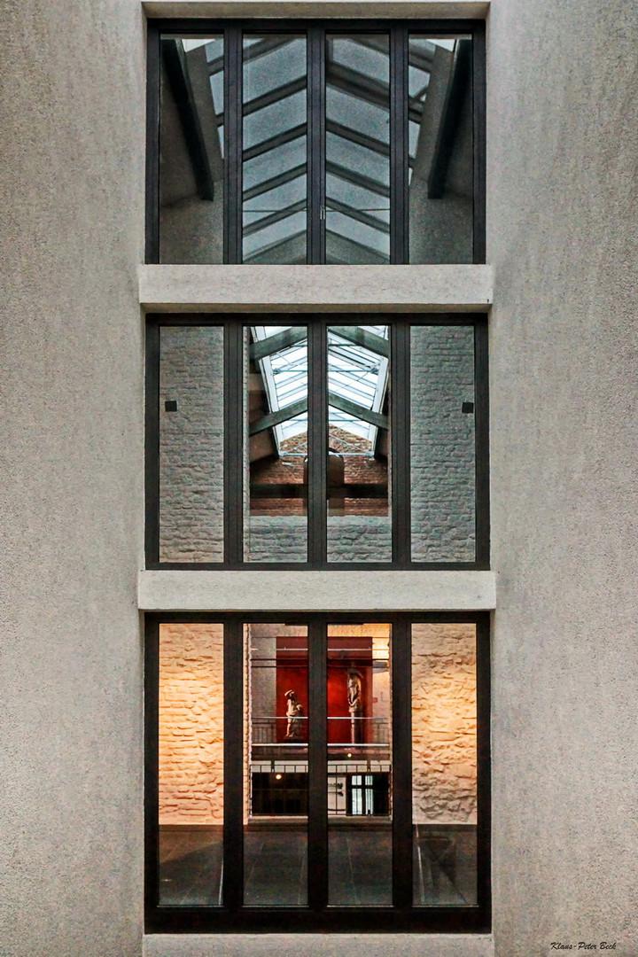 Triptychon der Architektur