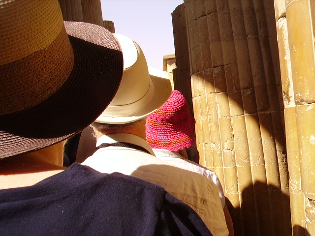 tris di cappelli....egitto