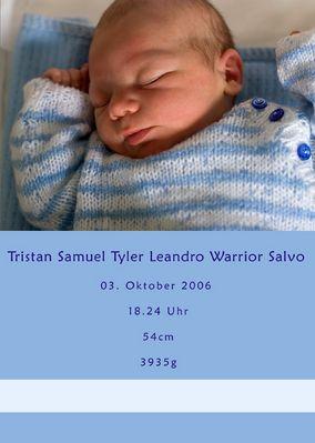 Tristan Samuel Tyler Leandro Warrior Salvo