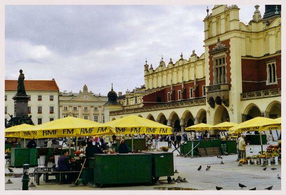 Trister Tag in Krakau