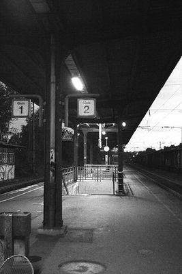 Tristess am Bahnhof