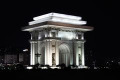 Triumphbogen in Pjöngjang