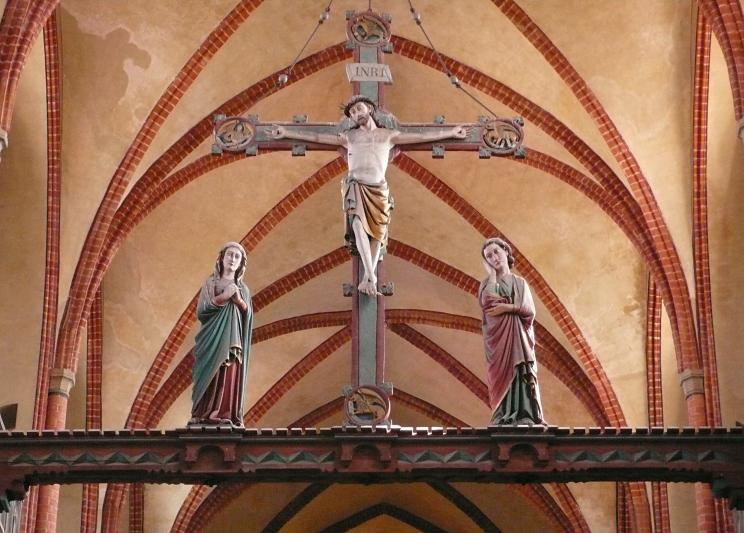 Triumphkreuz Dom von Havelberg (an der Einmündung der Havel in die Elbe)