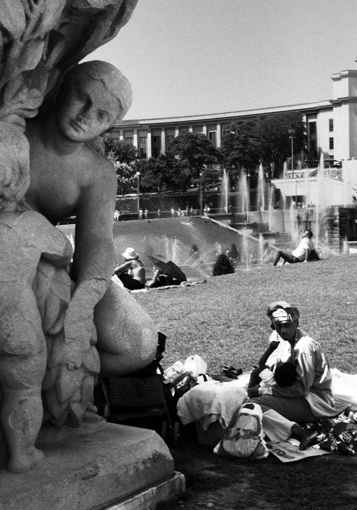trocadéro été 2009