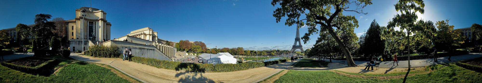 Trocadero Park Panorama