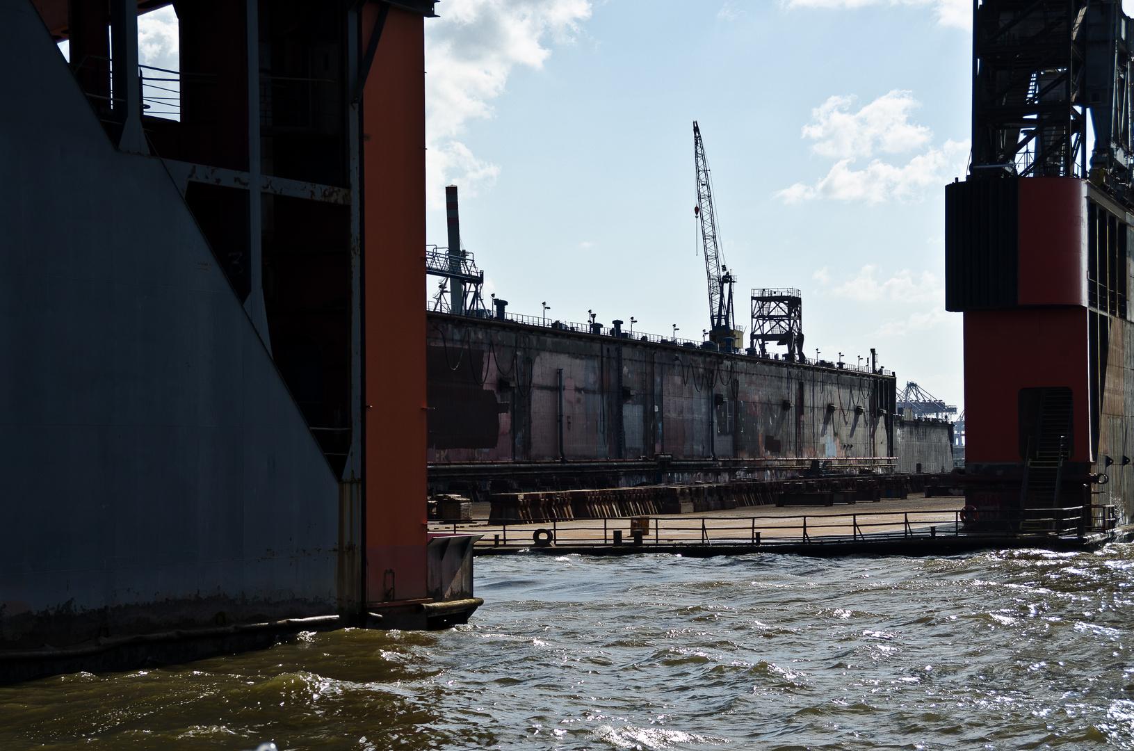 Trockenes Dock