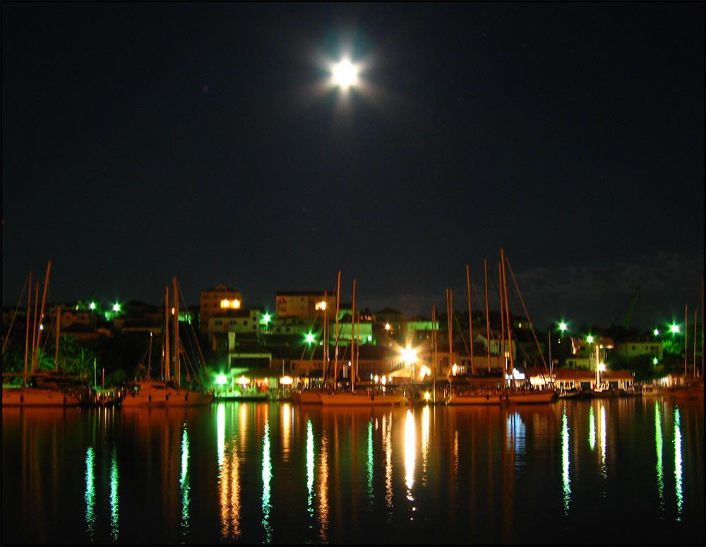 Trogir at Night
