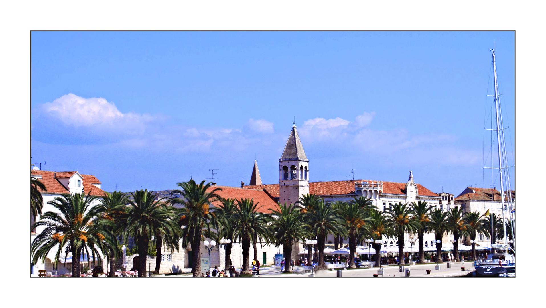 Trogir Promenade vom Wasser 2