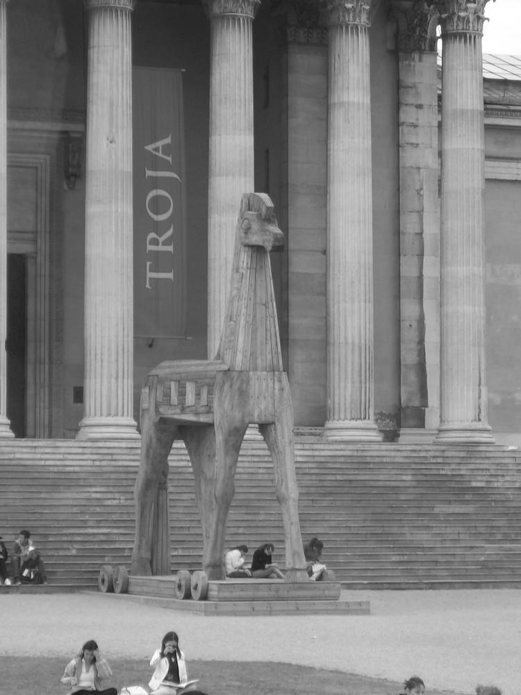 Troja-Ausstellung - Glyptothek - München - Mai 07